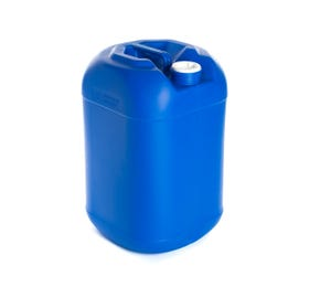 25 Litre Plastic Blue UN Approved Square Round Jerry Can with Bung