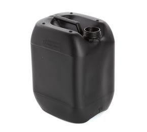 10 Litre Plastic Black UN Approved Stackable Jerry Can with 51mm Neck 435g