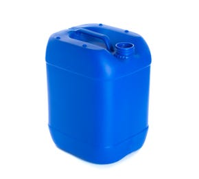 20 Litre Plastic Blue UN Approved Stackable Jerrycan With Visi-strip