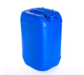 25 Litre Plastic Blue UN Approved Stackable Jerry Can 61mm Neck 950g