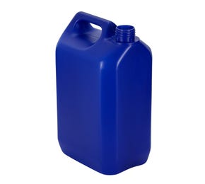 5 L Plastic Blue Jerrycan With 38mm Neck 135g