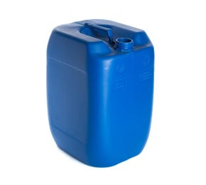 30 Litre Plastic Blue UN Approved Stackable Jerry Can with 60mm Neck 1.4kg