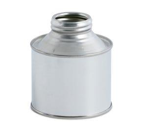 250 ML Tinplate Cone Top Tin Plain Interior