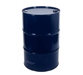 210 Litre Steel Blue UN Approved Tighthead Drum Laquered Interior