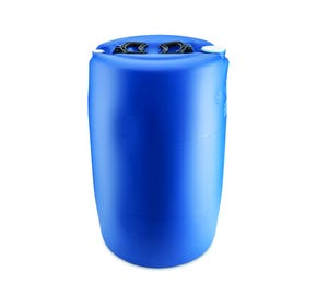60 Litre Plastic Blue Tighthead Drum UN Approved