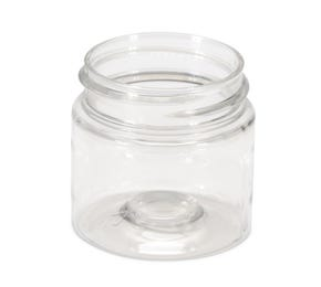 50 ML PET Clear Cylindrical Jar 43mm Screw Neck